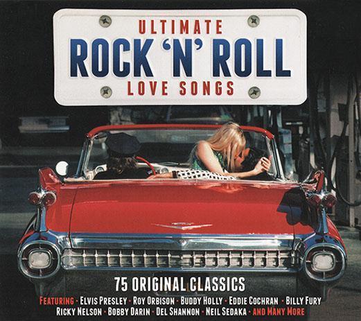 VA - Ultimate Rock 'N' Roll Love Songs (3 CDs) 2015