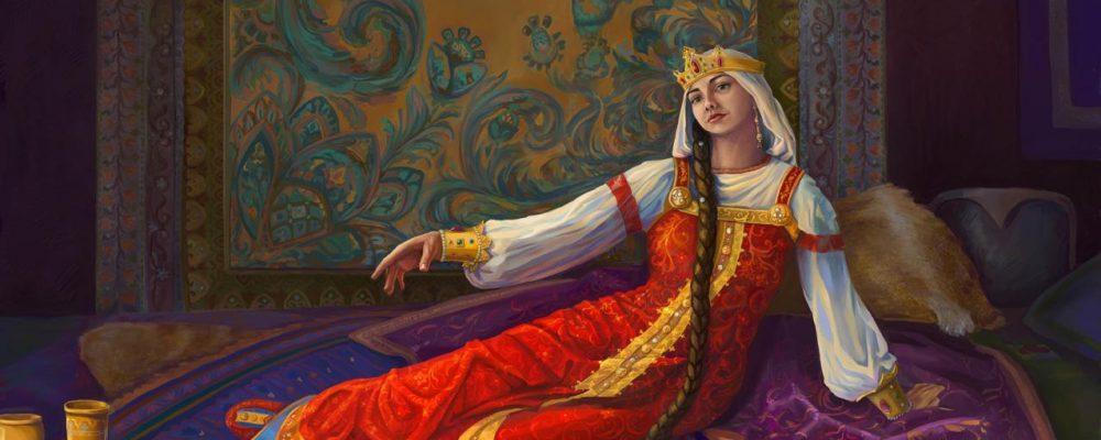 Загадочная Марья-Маревна